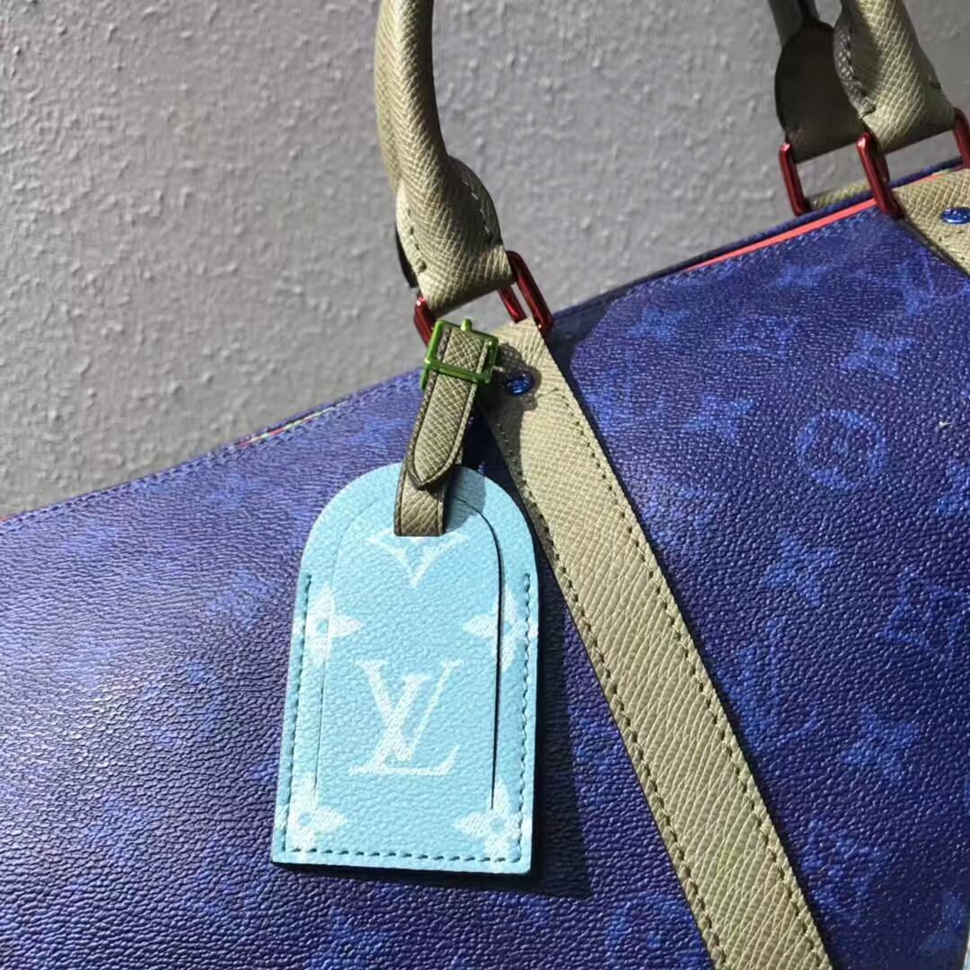 LV男士包包 出行必备旅行袋43835 陈冠希同款45cm
