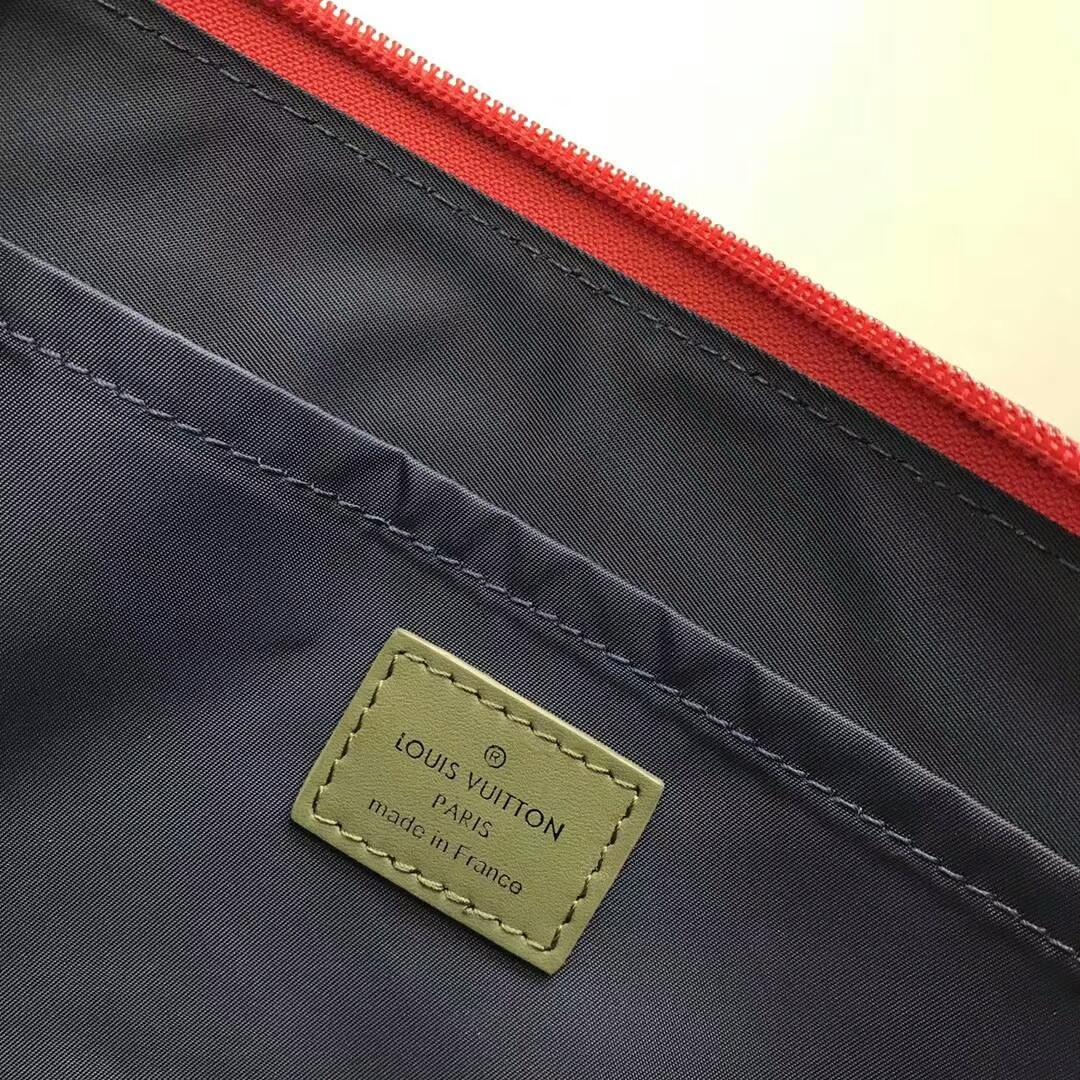 路易威登包包官网 LV2018男款时装秀男士拉链精品手包61669 帅气实用