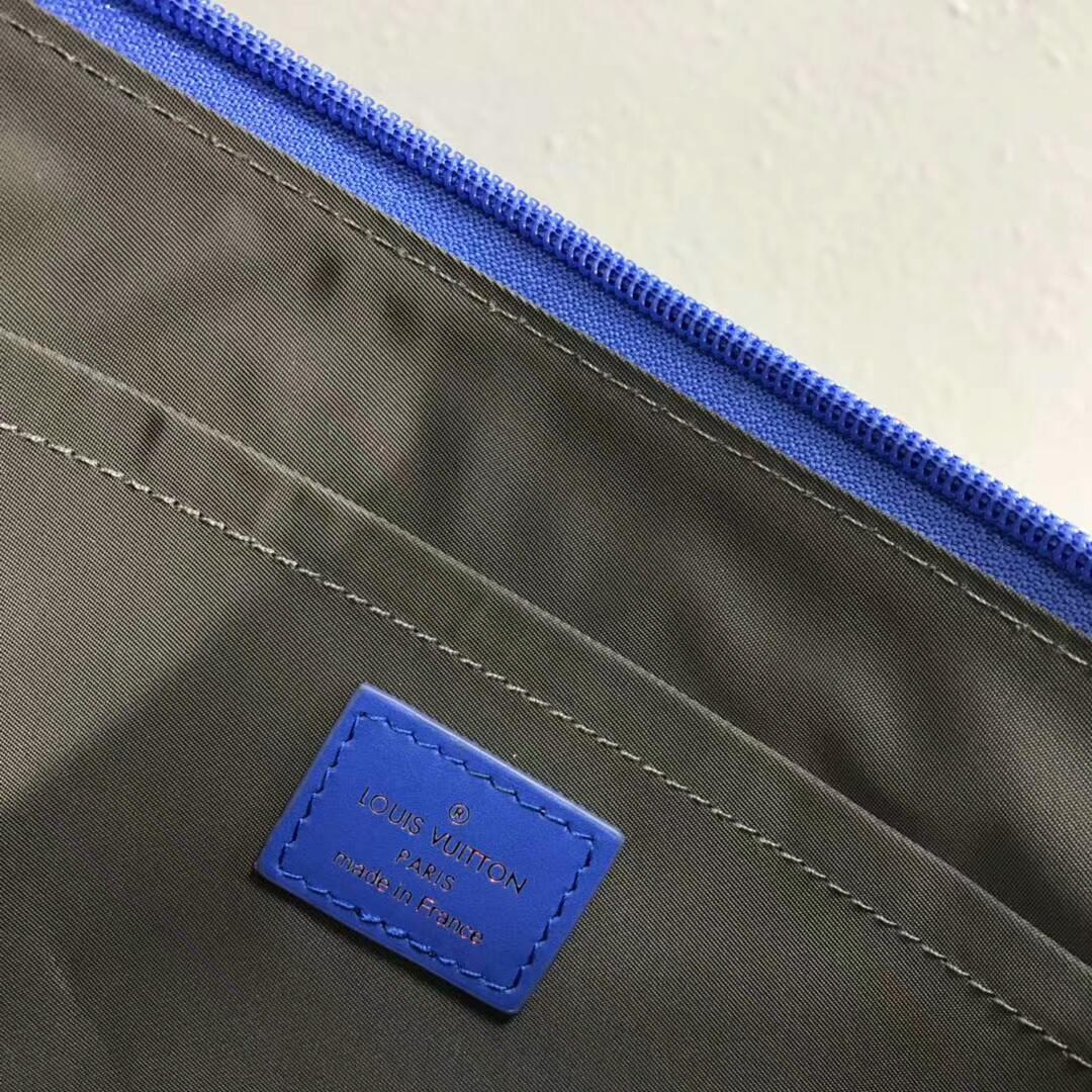 路易威登包包官网 LV2018男款时装秀男士拉链精品手包61669 帅气时尚