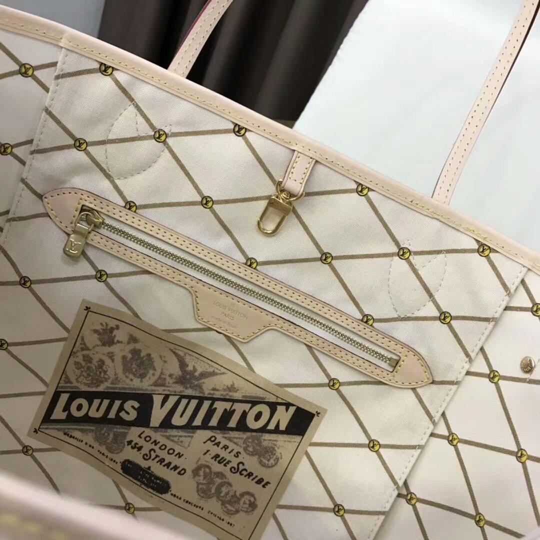 路易威登官网 LV购物袋白格40156