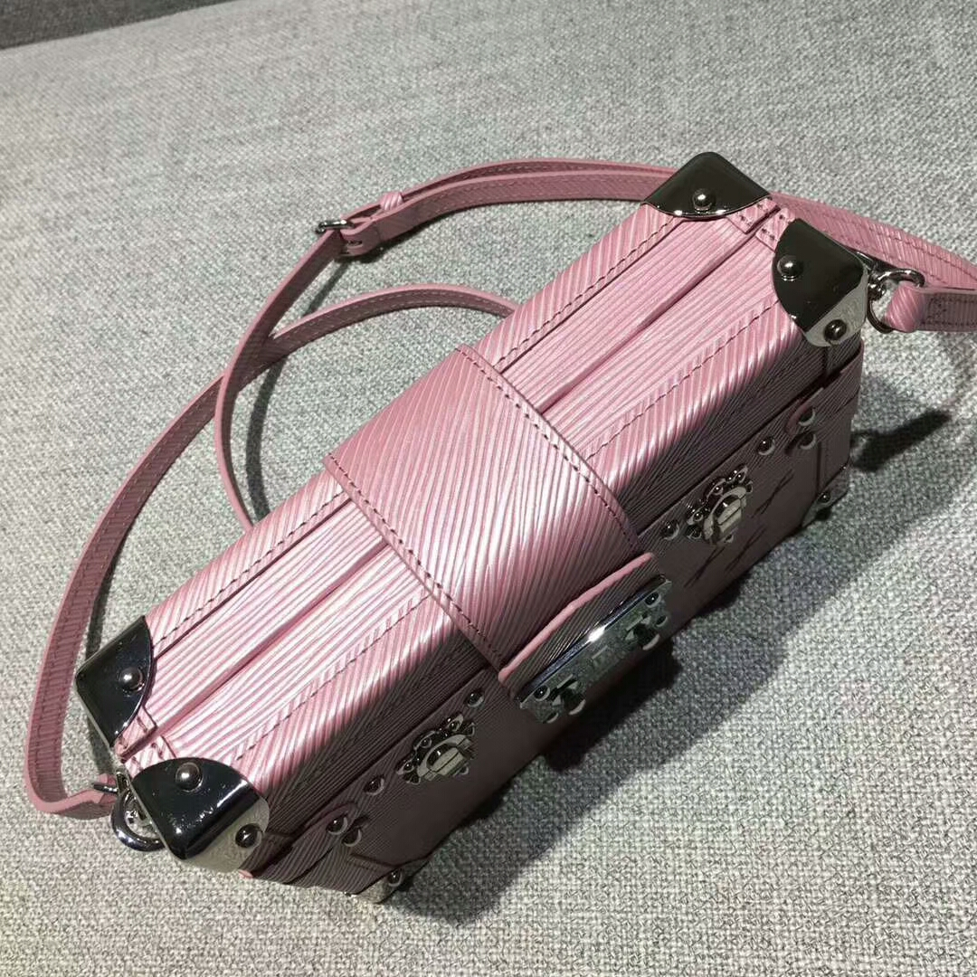 路易威登包包 Petite Maiie盒子双色粉40273 期待已久