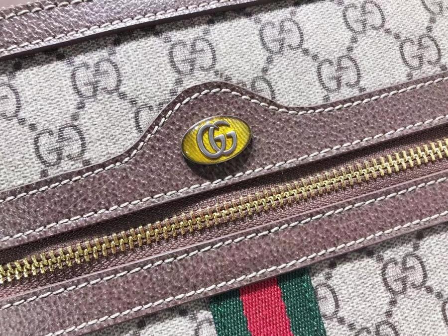GUCCI全新系列搭配 Ophidia 517551 腰包,经典搭配复古风潮,配全套包装礼盒 33×21cm