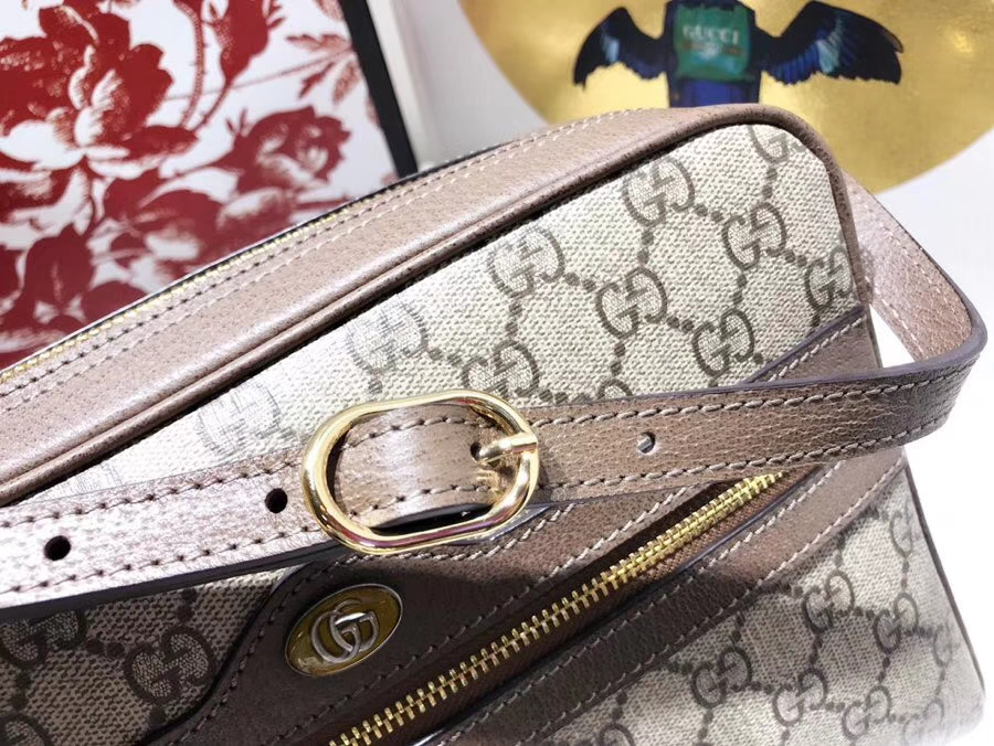 GUCCI全新系列搭配 Ophidia 517080 腰包,经典搭配复古风潮,配全套包装礼盒 26.5×18×9cm