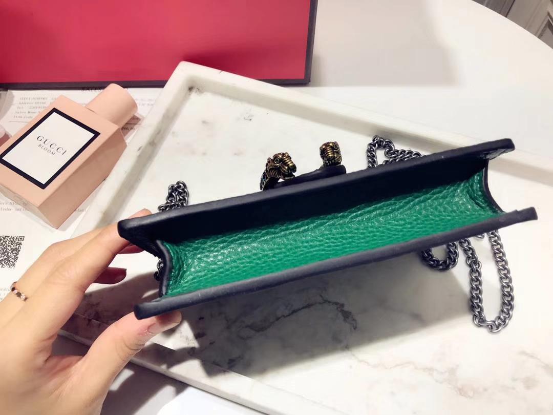 GUCCI 最新Nano Dionysus包包 476432 绿色 一款Mini 酒神真的是美的心都融化了 可爱又迷你 16.5cm