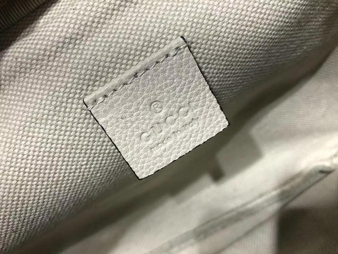 GUCCI 瞩目的包包 493869 白色 明星圈同款这款正席卷着整个时尚潮流圈 28×18×8cm