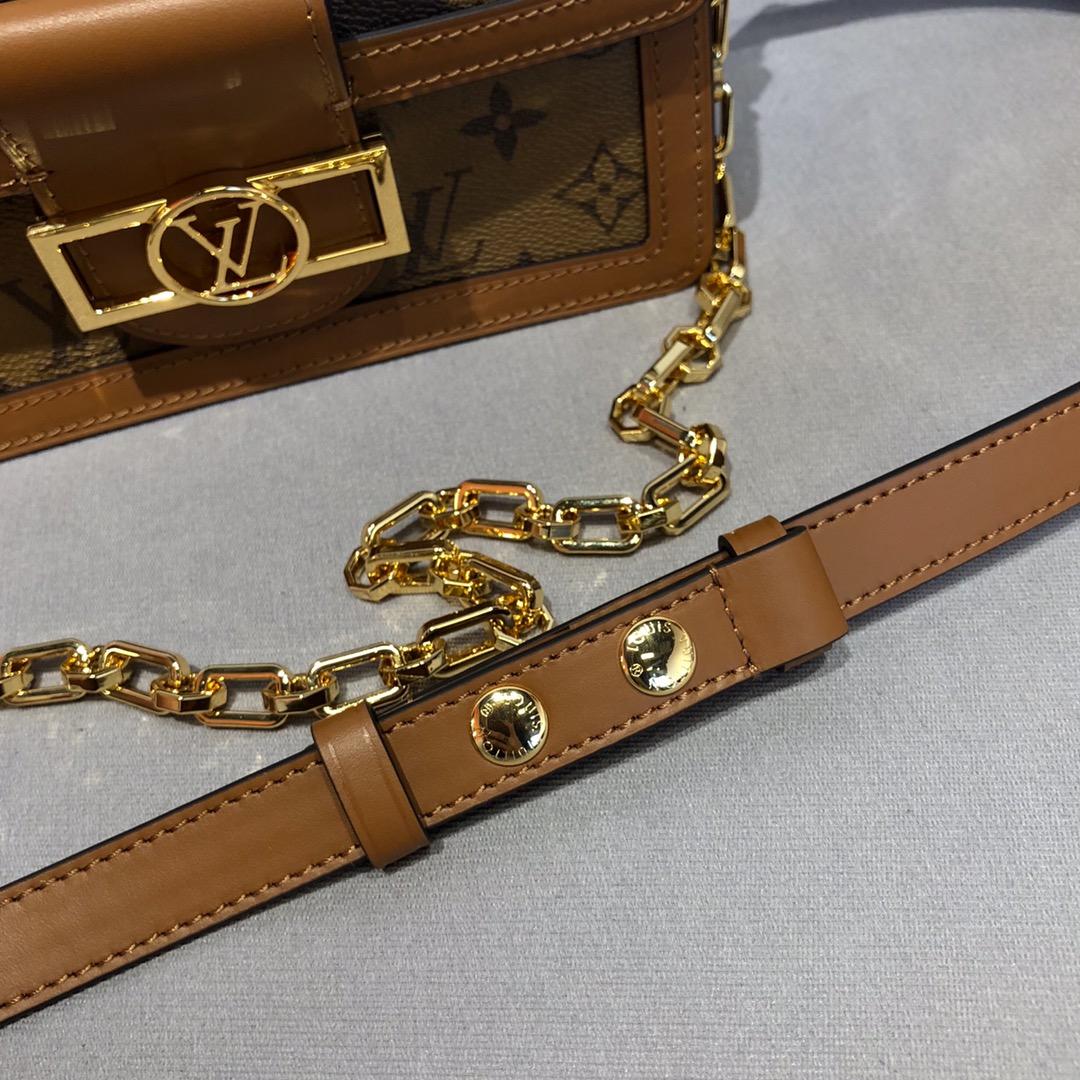 路易威登包包 时尚风采拼经典老花款大号44158 复古休闲