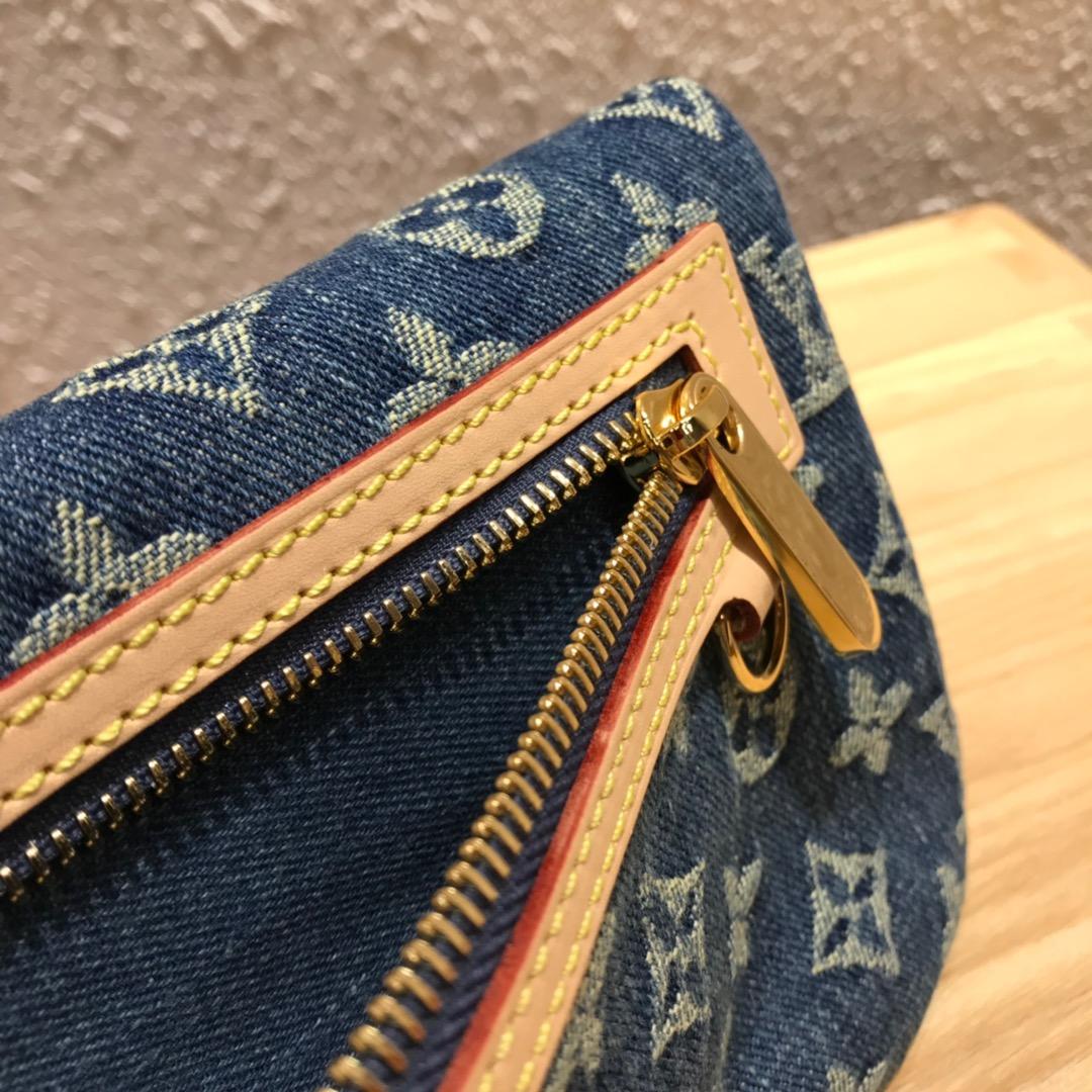 路易威登官网 LV牛仔系列中古绝版限量款手包44472 无论怎么搭配都超有范