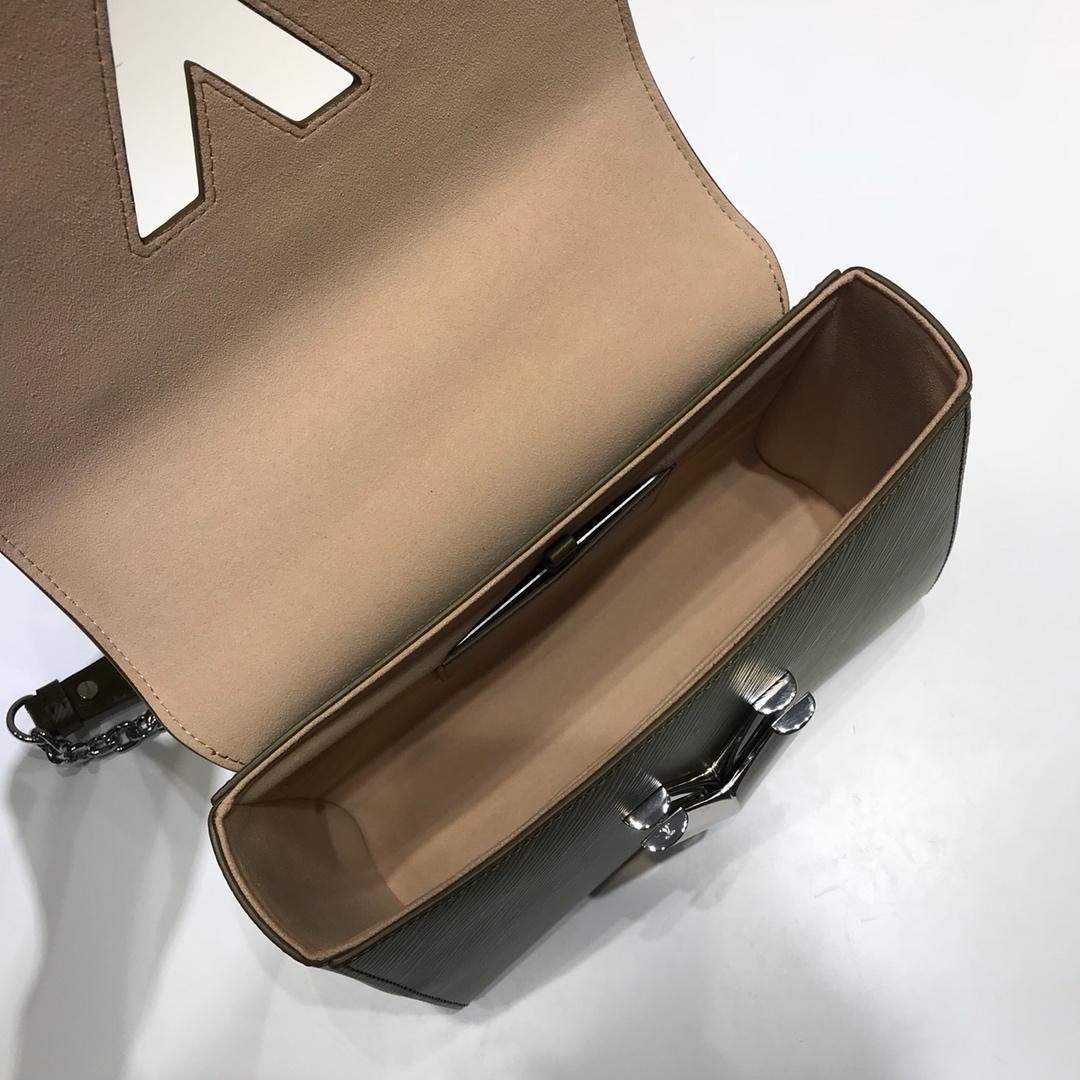 广州白云皮具城 Twist包LV招牌之一50276 造型清贵低调 简单大方 肩带可调长短
