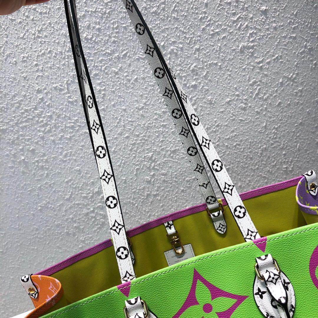 路易威登包包 彩色老花限量系列沙滩包44412 经典大方 年轻可爱