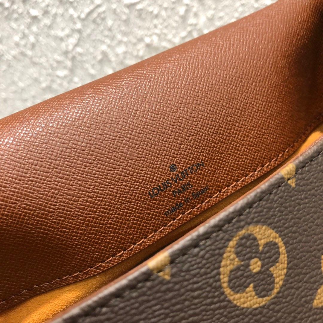 路易威登官网 老花肩背款竖款王菲包45386 超百搭耐用 稀少的一款