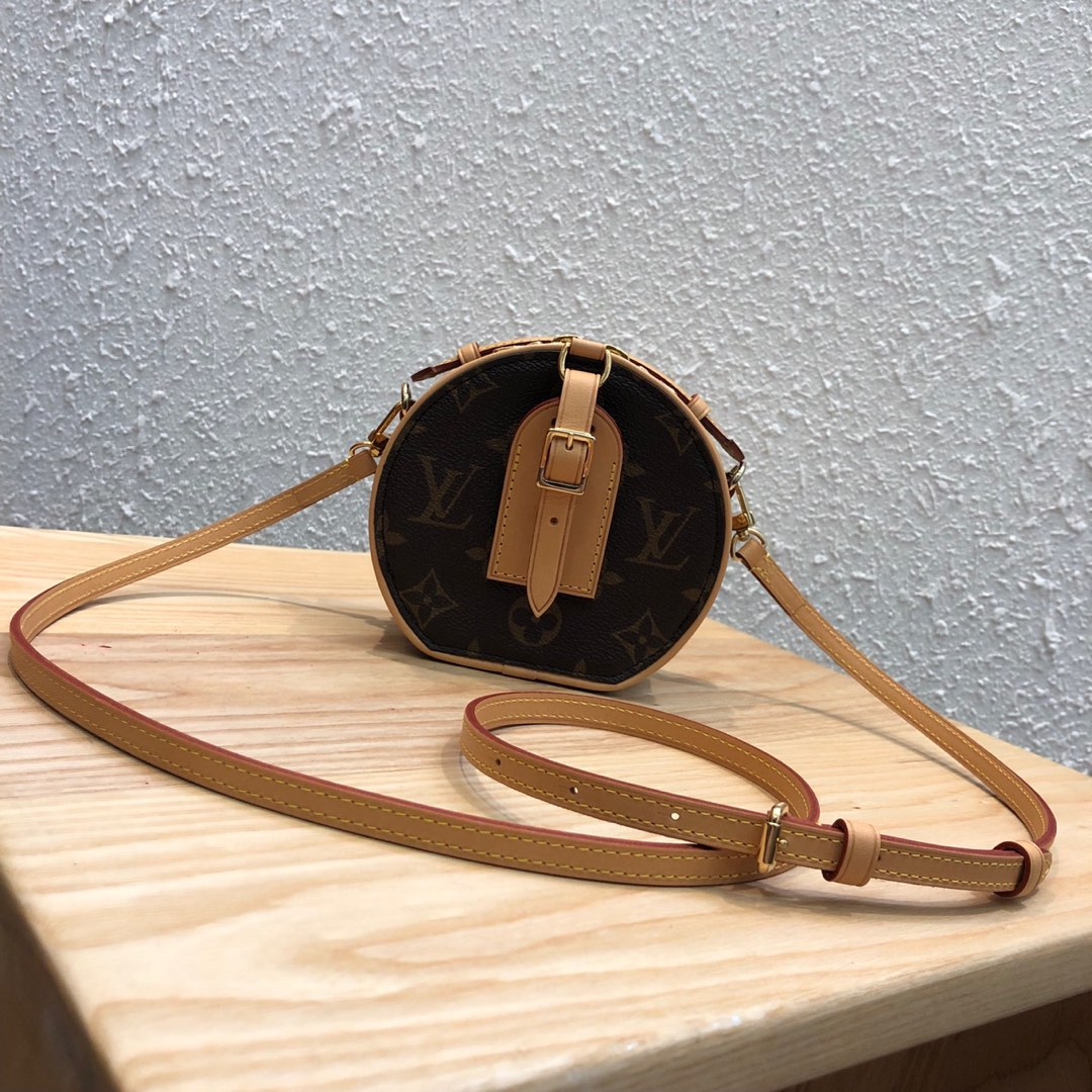 LV包包批发 mini小圆饼43520 能放日常小物件 太可爱了
