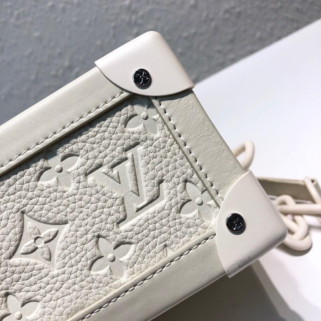 LV包包工厂 设计师VirgilAbloh入驻驴家首发单品 软盒子新版白色44427