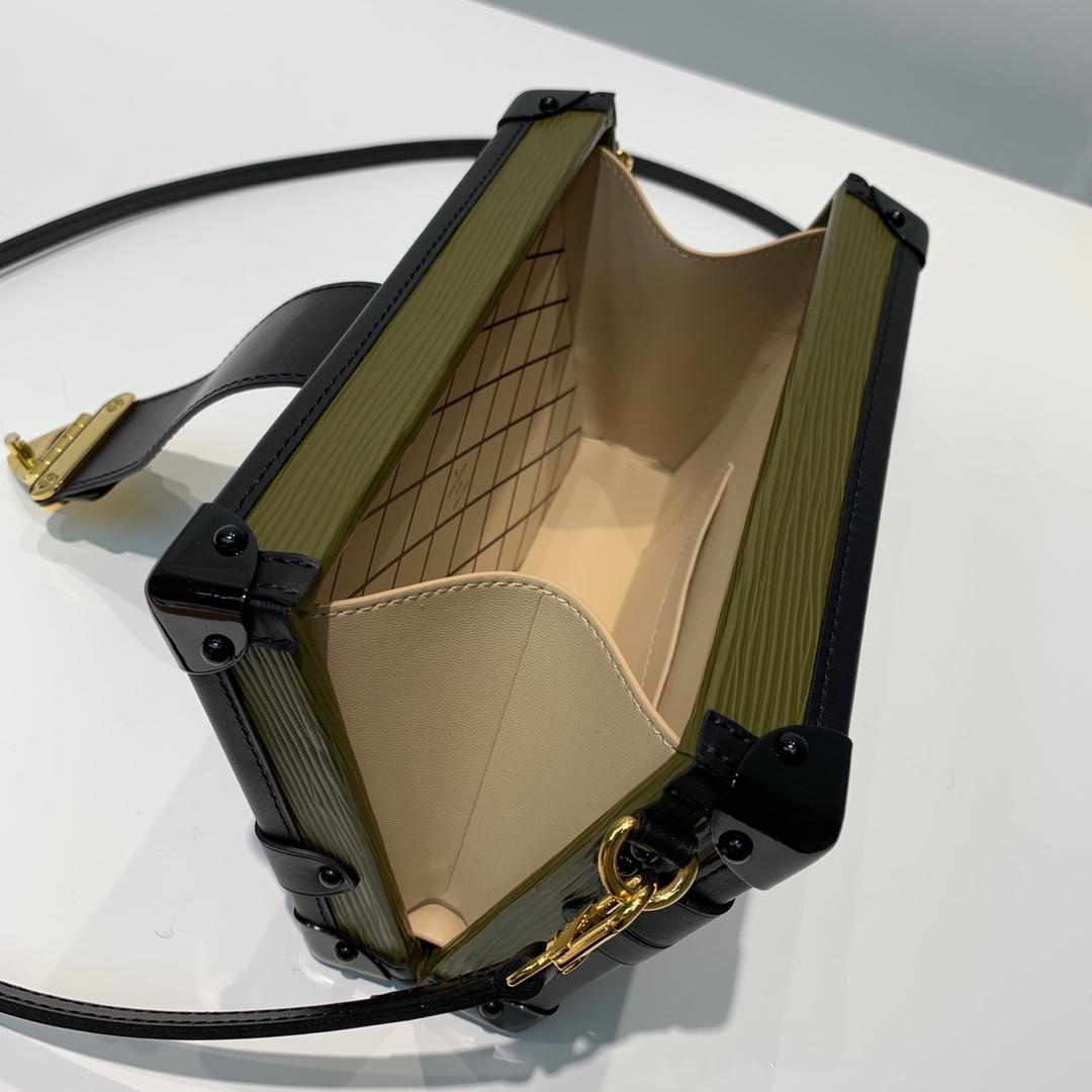 路易威登官网 水波纹盒子绿色44154 古董艺术 经典品味