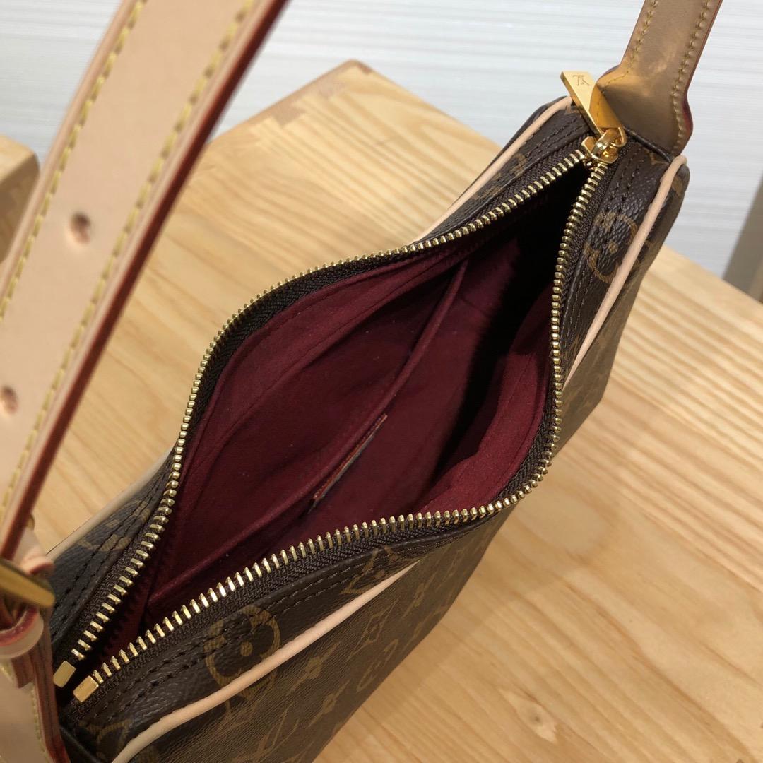 路易威登包包 中古豌豆包44031 外表可爱 适合任何穿搭