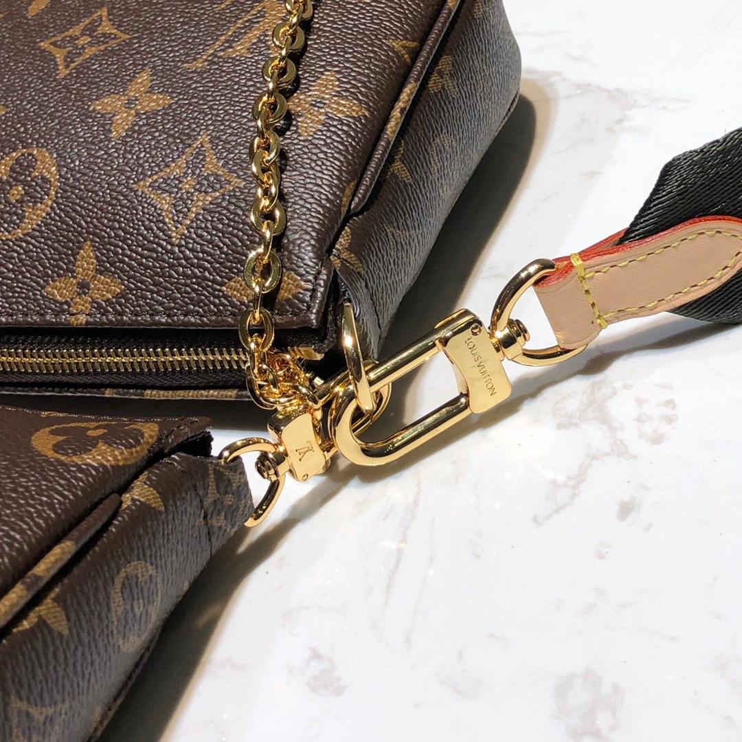 LV包包批发 驴家全新组合三件套51984 经典三小包 时尚感十足