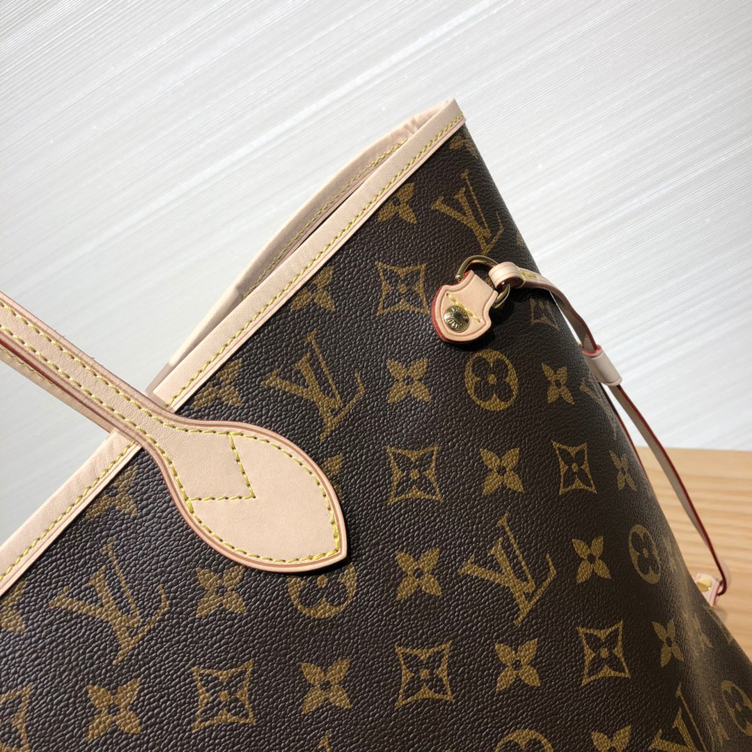 广州包包批发 Neverfull购物袋40158 经典购物袋 大容量不娇气
