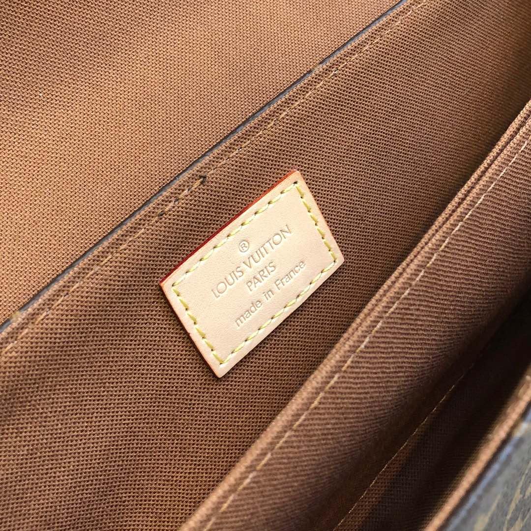 LV包包官网 Vintage经典老花款45390 越老越经典越耐看