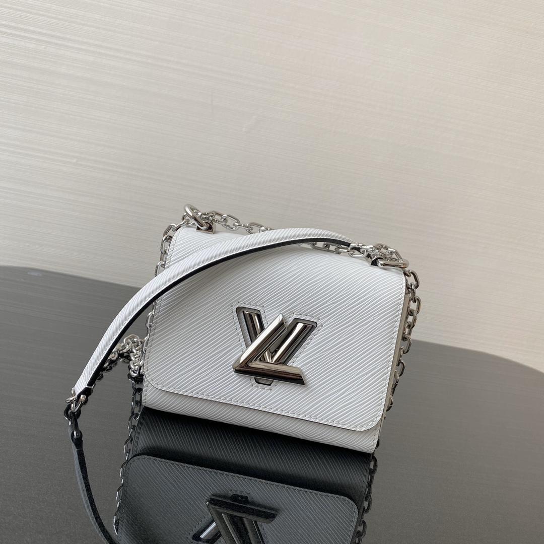 LV包包批发 2020早春twist mini50275 可变式链条手柄可以斜背也可以优雅肩背