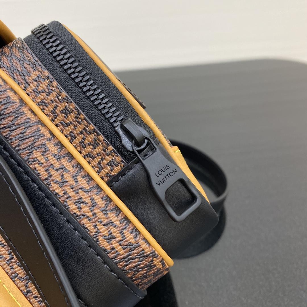路易威登官网 最新NIGO合作系列相机包69538 成熟的味道 超大号的棋盘格